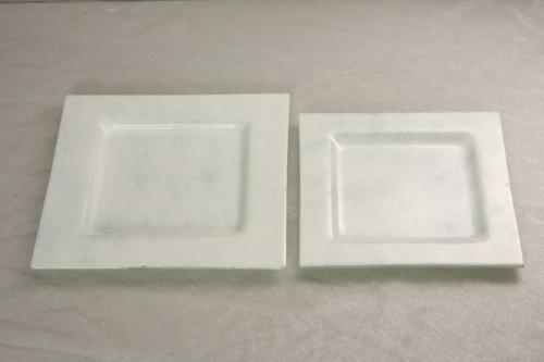 Glasschale 16x16 cm Quadrat