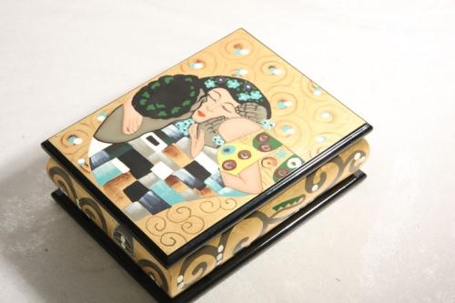 SCHMUCKSCHATULLE Casa Collection GUSTAV KLIMT - DER KUSS