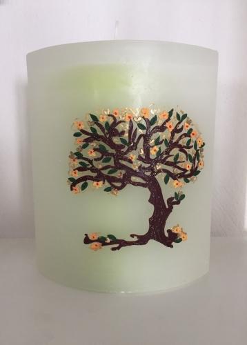 SHADOW- Elypse Lebensbaum  pastellgrün
